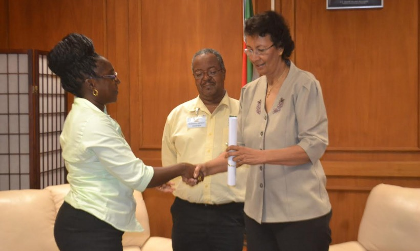 MZ provides ' the declaration of Paramaribo' to the Chairman of the National Assembly (DNA)