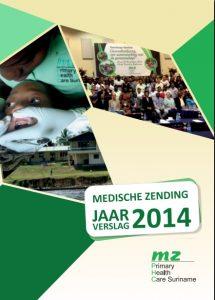Medische Zending Jaarverslag 2014