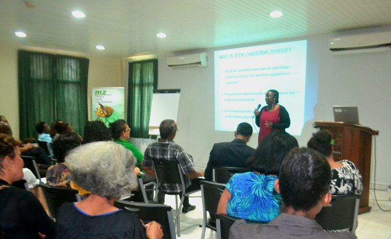 "Workshop ""Herzienning curriculum Gezondheid Zorg assistenten"""