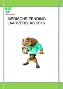 Medische Zending Jaarveslag 2016