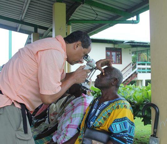 104 patiënten gezien bij specialistische oogmissie