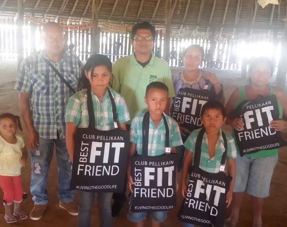 Medische Zending stimuleert schoolprestaties van inheemse leerlingen in haar verzorgingsgebied