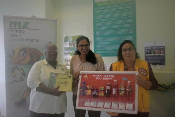 Medische Zending voert samen met Lions Club Paramaribo 'Diabetes project' uit