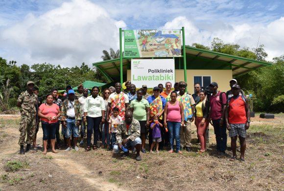 Medische Zending verwelkomt nieuwe polikliniek op Lawatabiki