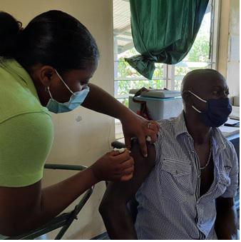 Goudmijners Sarakreek krijgen gelegenheid tot vaccineren
